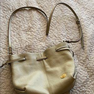 vince camuto pleather grey purse